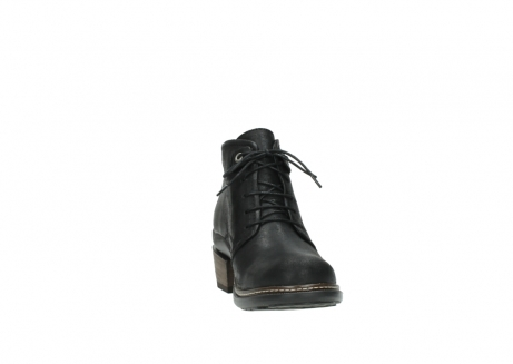 wolky ankle boots 00477 tonala 50000 black oiled leather_18