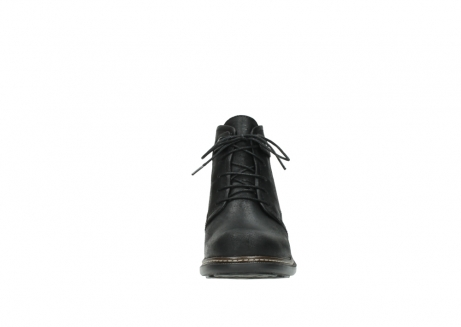wolky ankle boots 00477 tonala 50000 black oiled leather_19