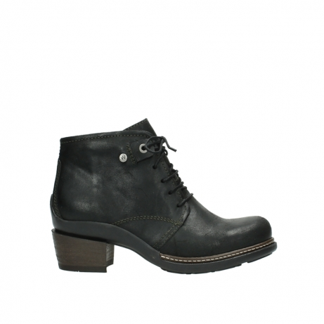 wolky ankle boots 00477 tonala 50730 forest green oiled leather