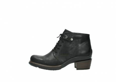 wolky ankle boots 00477 tonala 50730 forest green oiled leather_1