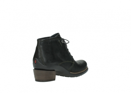 wolky ankle boots 00477 tonala 50730 forest green oiled leather_10
