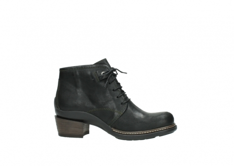 wolky ankle boots 00477 tonala 50730 forest green oiled leather_14