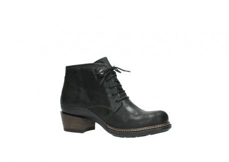 wolky ankle boots 00477 tonala 50730 forest green oiled leather_15
