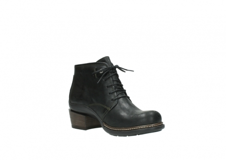 wolky ankle boots 00477 tonala 50730 forest green oiled leather_16