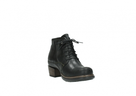 wolky ankle boots 00477 tonala 50730 forest green oiled leather_17