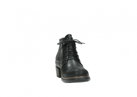 wolky ankle boots 00477 tonala 50730 forest green oiled leather_18