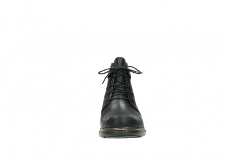 wolky ankle boots 00477 tonala 50730 forest green oiled leather_19
