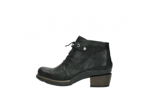 wolky ankle boots 00477 tonala 50730 forest green oiled leather_2