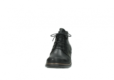 wolky ankle boots 00477 tonala 50730 forest green oiled leather_20