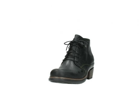 wolky ankle boots 00477 tonala 50730 forest green oiled leather_21