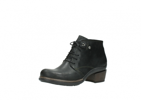 wolky ankle boots 00477 tonala 50730 forest green oiled leather_23