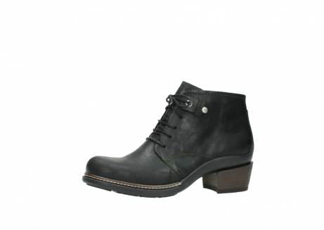 wolky ankle boots 00477 tonala 50730 forest green oiled leather_24
