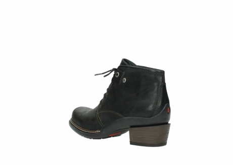 wolky ankle boots 00477 tonala 50730 forest green oiled leather_4