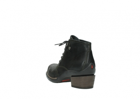 wolky ankle boots 00477 tonala 50730 forest green oiled leather_5