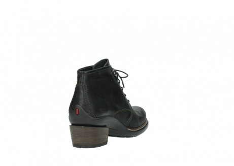 wolky ankle boots 00477 tonala 50730 forest green oiled leather_9