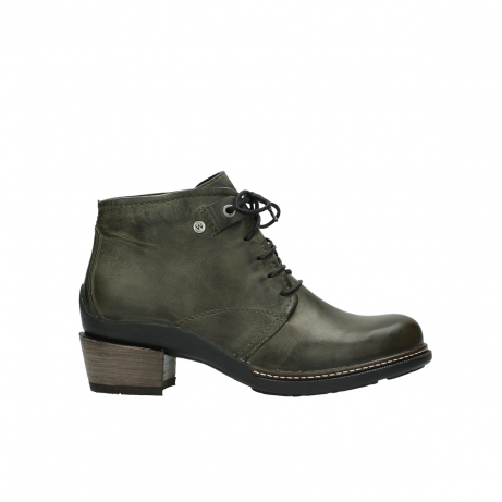 wolky ankle boots 00477 tonala 80730 forest green leather