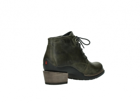 wolky ankle boots 00477 tonala 80730 forest green leather_10