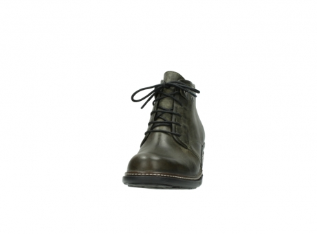 wolky ankle boots 00477 tonala 80730 forest green leather_20
