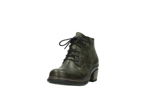 wolky ankle boots 00477 tonala 80730 forest green leather_21