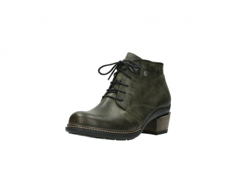 wolky ankle boots 00477 tonala 80730 forest green leather_22