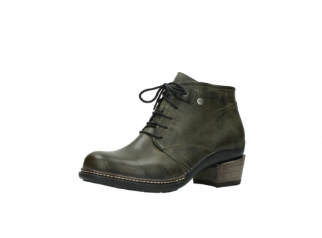 wolky ankle boots 00477 tonala 80730 forest green leather_23