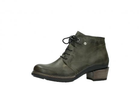 wolky ankle boots 00477 tonala 80730 forest green leather_24