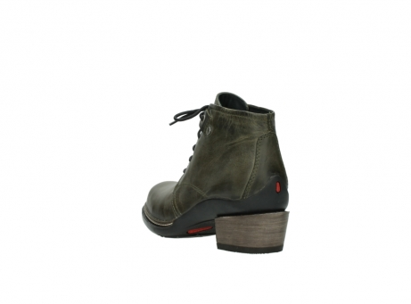 wolky ankle boots 00477 tonala 80730 forest green leather_5