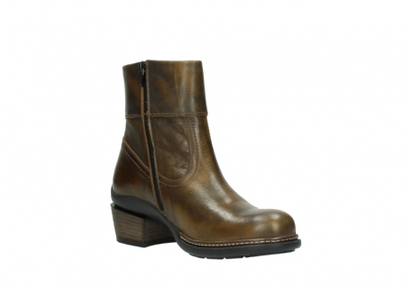 wolky bottines 00478 arriba 30363 cuir marron cuivre_16