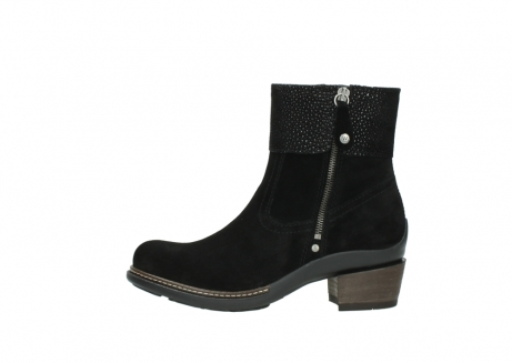 wolky ankle boots 00478 arriba 40000 black suede_1
