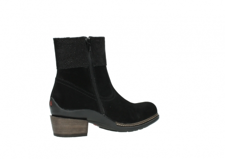 wolky ankle boots 00478 arriba 40000 black suede_11