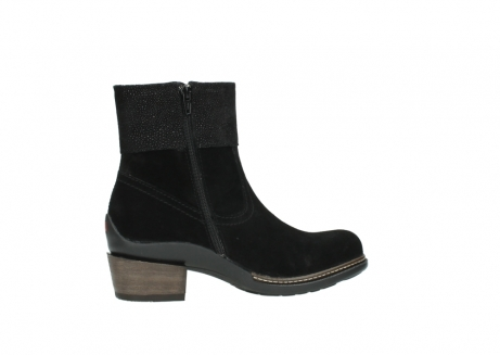 wolky ankle boots 00478 arriba 40000 black suede_12