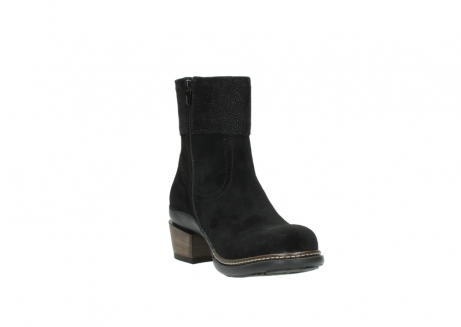 wolky ankle boots 00478 arriba 40000 black suede_17