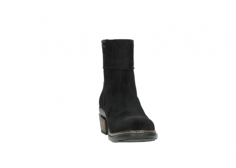 wolky ankle boots 00478 arriba 40000 black suede_18