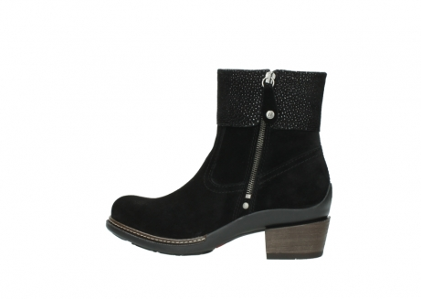wolky ankle boots 00478 arriba 40000 black suede_2