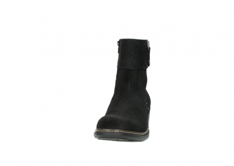 wolky ankle boots 00478 arriba 40000 black suede_20