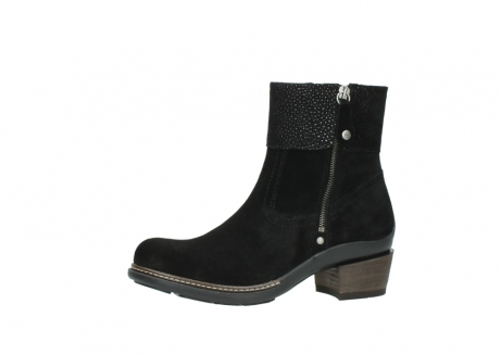 wolky ankle boots 00478 arriba 40000 black suede_24