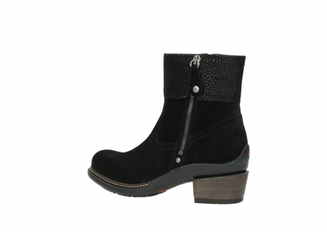 wolky ankle boots 00478 arriba 40000 black suede_3