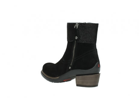 wolky ankle boots 00478 arriba 40000 black suede_4