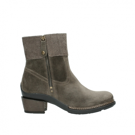 wolky ankle boots 00478 arriba 40150 taupe suede