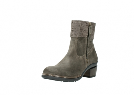 wolky ankle boots 00478 arriba 40150 taupe suede_22