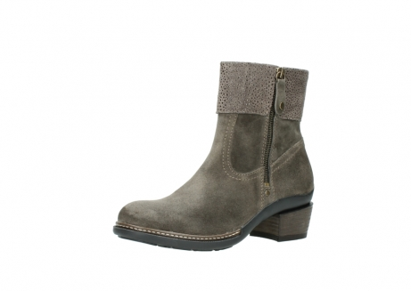 wolky ankle boots 00478 arriba 40150 taupe suede_23