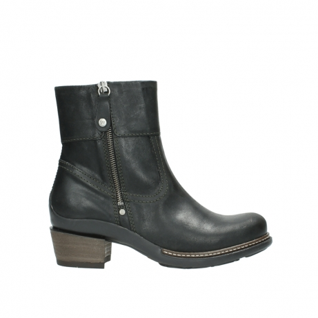 wolky ankle boots 00478 arriba 50730 forest green oiled leather