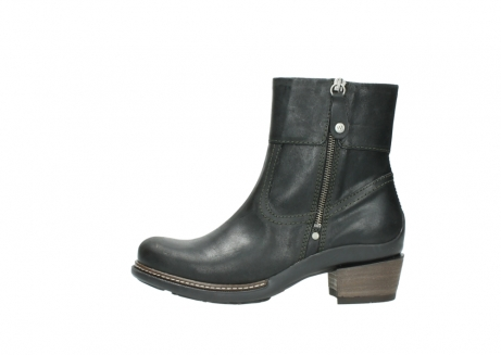 wolky ankle boots 00478 arriba 50730 forest green oiled leather_1