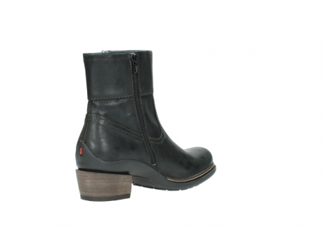 wolky ankle boots 00478 arriba 50730 forest green oiled leather_10