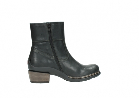 wolky ankle boots 00478 arriba 50730 forest green oiled leather_12