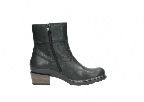 wolky ankle boots 00478 arriba 50730 forest green oiled leather_13