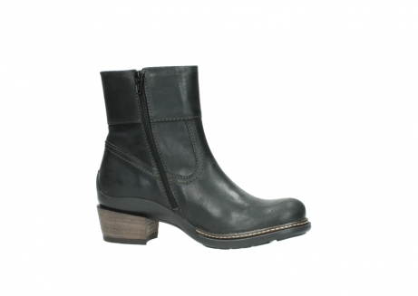 wolky ankle boots 00478 arriba 50730 forest green oiled leather_14