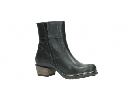 wolky ankle boots 00478 arriba 50730 forest green oiled leather_15