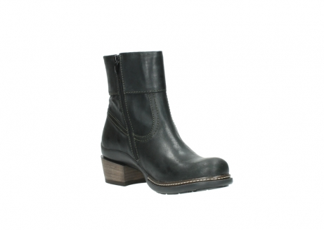 wolky ankle boots 00478 arriba 50730 forest green oiled leather_16