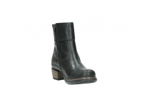 wolky ankle boots 00478 arriba 50730 forest green oiled leather_17